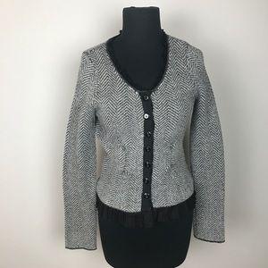 🧜🏻♀️ANTHROPOLOGIE GUINEVERE herringbone sweater